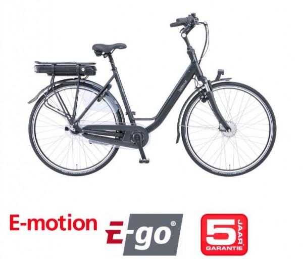 Batavus Genova E-go 500 Da Nexus 7 Gang mit Rücktritt black matt