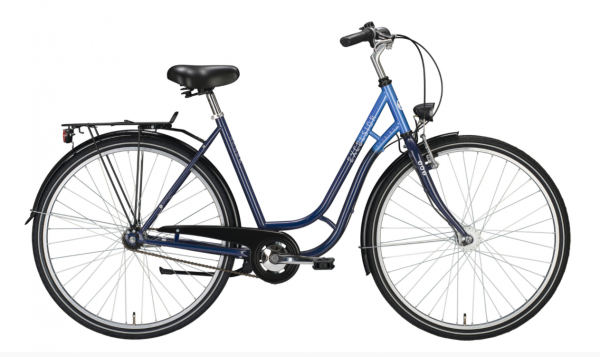 """EXCELSIOR Cityrad """"Touring ND"""" Mod. 21 28"""", opalblue / bossblue, 3-Gang RBN, 53cm"""