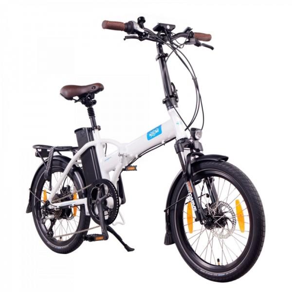 "NCM London+ 20"" E-Faltrad, E-Bike, Klapprad 36V 19Ah 684Wh in Weiß"