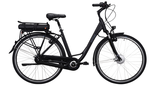 Kettler Alu Rad Simple 450 Wh Unisexfahrrad E-Bike 28 Zoll Wave 7 Gang black matt/grey 45 Zoll