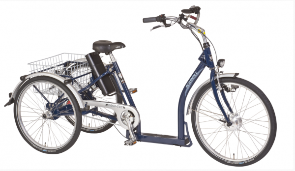 "PFAU-TEC Elektro-Shoppingrad ""Napoli II"" Mod. 20 - Unisex, dunkelblau, 45cm"