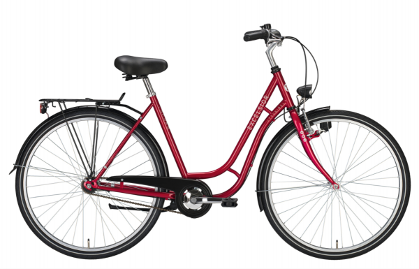 """EXCELSIOR Cityrad """"Touring"""" Mod. 21, 26"""", red, 1-Gang RBN, 45cm"""