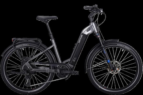 KETTLER E-Bike Alu-Rad Quadriga DUO CX12 1250 Wh Unisex E-Trekking & E-City 27,5 Zoll Wave 12 Gang K