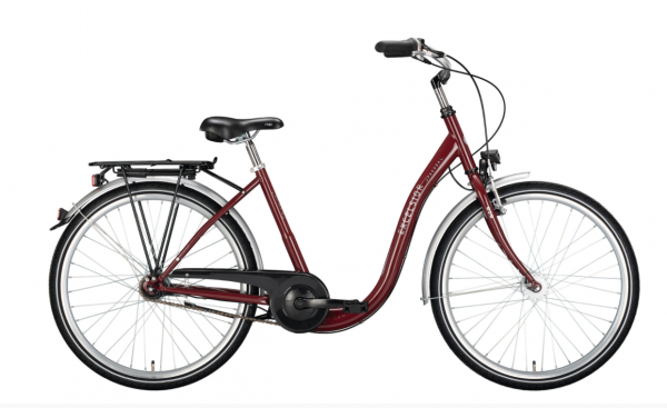 """EXCELSIOR Cityrad """"Pagoba ND"""" Mod. 21 Tiefeinsteiger, 26"""" red, 3-Gang SHIMANO """"Nexus"""" RBN, 45cm"""