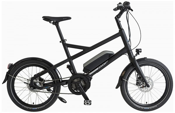 "E-Bike BBF ""Boston"" BOSCH Uni 7-Gang - 20"", RH 38 cm"