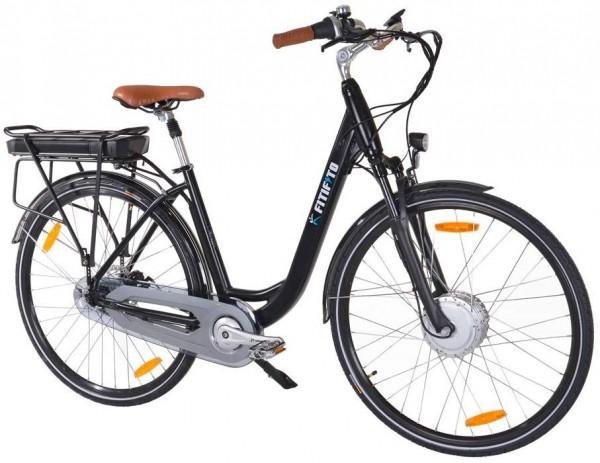 Fitifito CB28 Zoll Elektrofahrrad Citybike E-Bike Pedelec, 48V 250W Bafang Motor, 13Ah 624Wh Samsung