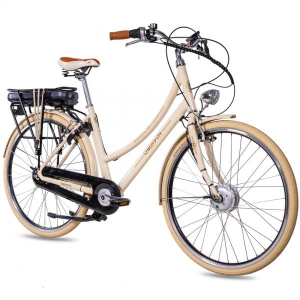 CHRISSON EH1 7 Gang ANANDA 28 Zoll E-Citybike beige