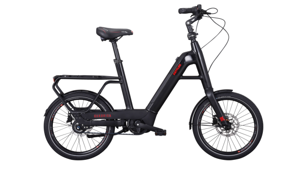 KETTLER Alu Rad E-Bike Quadriga Cityhopper Belt 500 Wh Unisex E-City 20 Zoll Wave 8 Gang