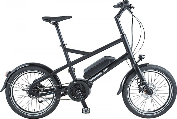 "BBF ""Boston"" E-Bike BOSCH Uni 7-Gang - In RH 44cm, schwarz"