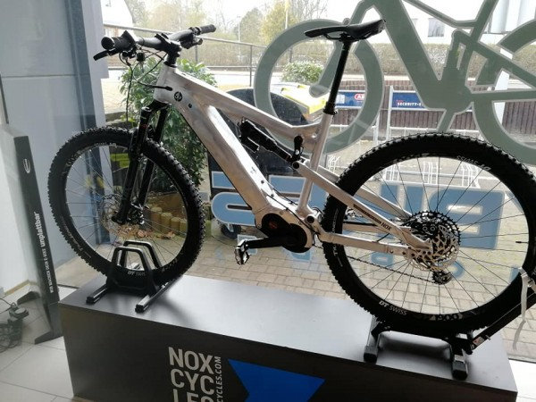 NOX HYBRID ALL-MOUNTAIN 5.9 in RAW Expert Gr. L 29er, mit Brose Display, SONDEREDITION, LETZTE BIKE