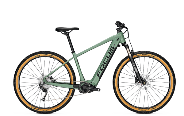 FOCUS JARIFA² 6.7 SEVEN E-MTB Hardtail Green