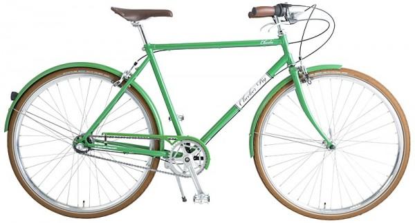 "CHECKER PIG ""Charlie"" 3-Gang - 28"", Retrobike grün - RH 54 cm"