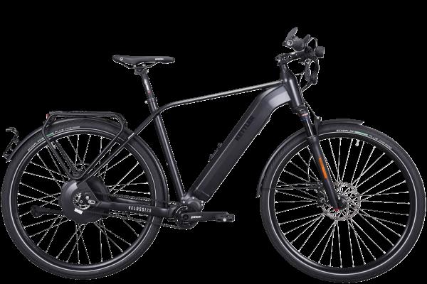 KETTLER Alu-Rad Velossi 2.0 651 Wh E-Urban 28 Zoll 9 Gang Tretlager-Getriebe black