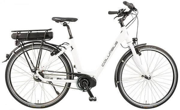 "COLUMBUS ""Alu Light Steps"" STEPS Damen 8-Gang E-Bike weiß - RH 55 cm"