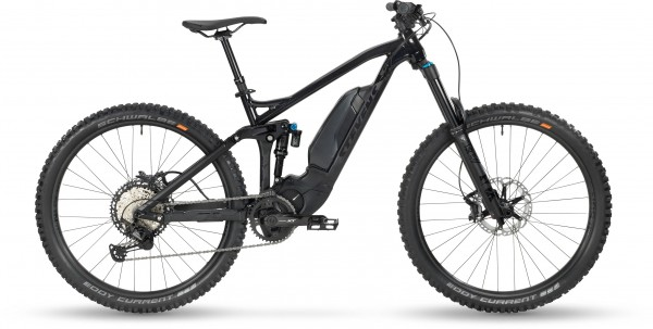 "STEVENS E-Sledge ES Fully 27.5"" 2020 Galaxy Black"