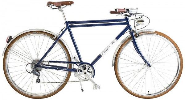 "CHECKER PIG ""Paul"" 8-Gang - 28"", Retrobike dunkelblau - RH 54 cm"